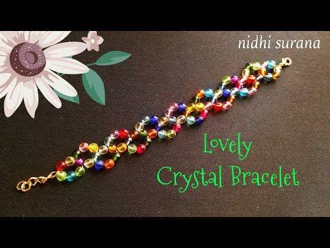 ⚜️Happy Holi Crystal Bracelet || Colourful Pulsera
