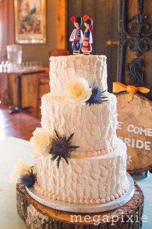 Textured Buttercream Wedding Cake | | Edible Art Bakery U0026 Dessert Cafe,  Raleigh, NC