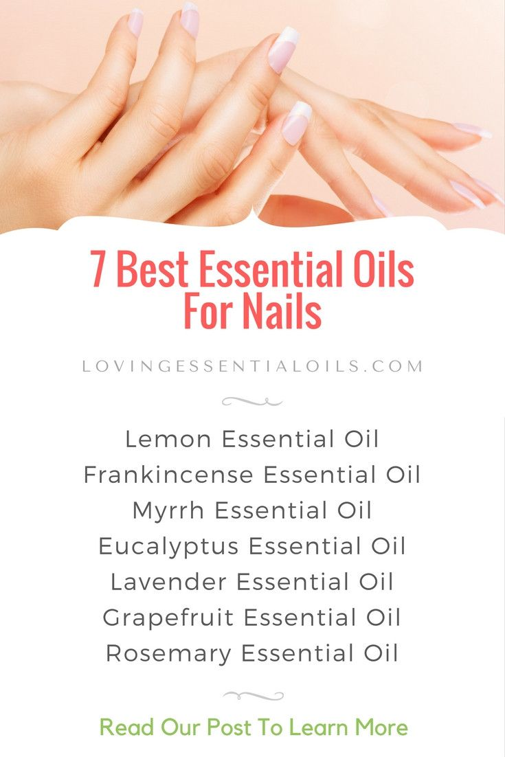 Essential Oils for Nails with Nail Strengthening Serum | Essential ...