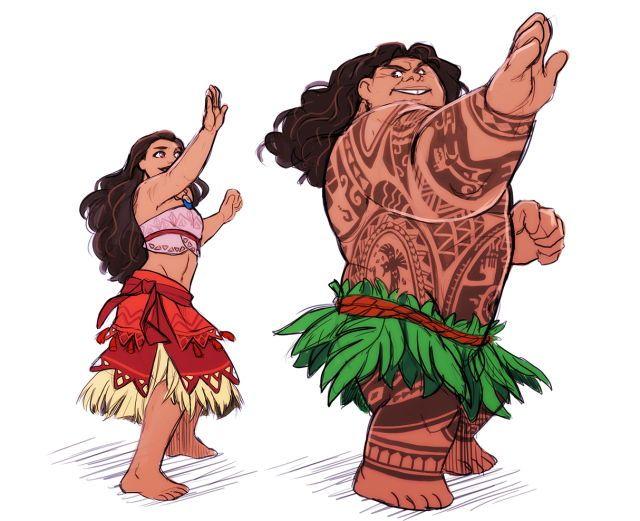 Teaching Maui how to hula dance