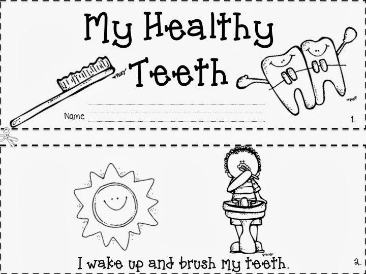 Dental Health Emergent Reader Freebie Dental Health Preschool