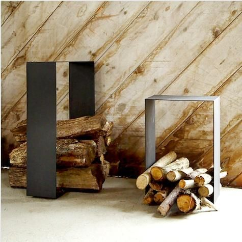 firewood holder - Fireplace Wood Holder