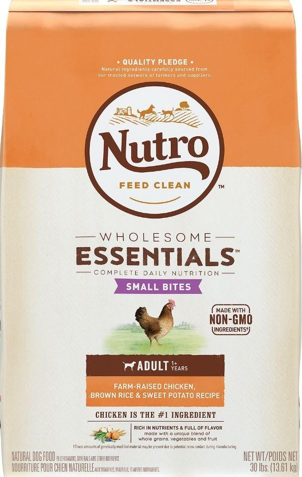Nutro Wholesome Essentials Small Bites Chicken Whole Brown Rice