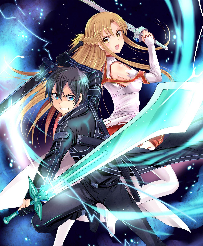 Power couple Sword art online wallpaper, Otaku art