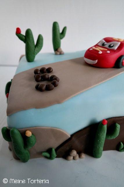 Eine Cars Torte Zum 5 Geburtstag Backen Brot Kuchen