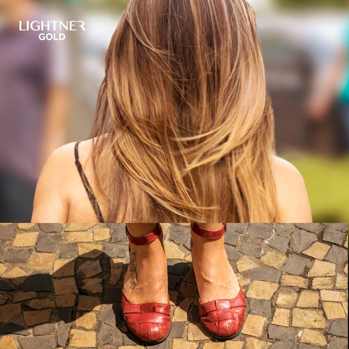 Quer saber o que nós brasileiras amamos? Ombré Hair e sapatos! Nosso passeio fotográfico pelas ruas das grandes cidades nos mostrou que iluminar os fios é essencial e o pó descolorante Lightner Gold te ajuda a dar aquele toque especial e esbanjar muito charme. #LoiroDosSonhos