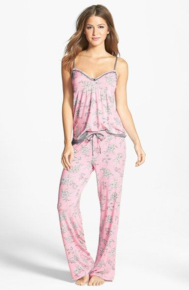 bec213cd4c PJ Salvage  Modal Essentials  Lace Trim Camisole Pajamas (Nordstrom  Exclusive) available at  Nordstrom