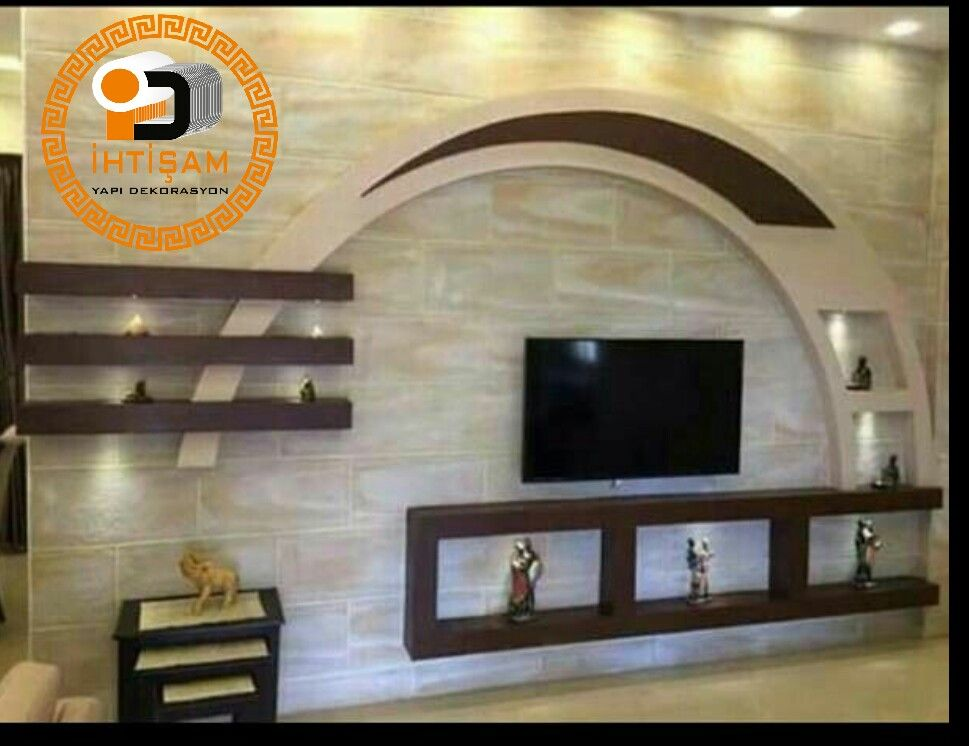 Pin By Mamer Saliji On 100000 تلفزيون مودررررن Tv Room Design Tv Wall Design Ceiling Design Living Room