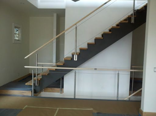 Best Wire Side Mount Steel Stairs Steel Railing Stainless 400 x 300