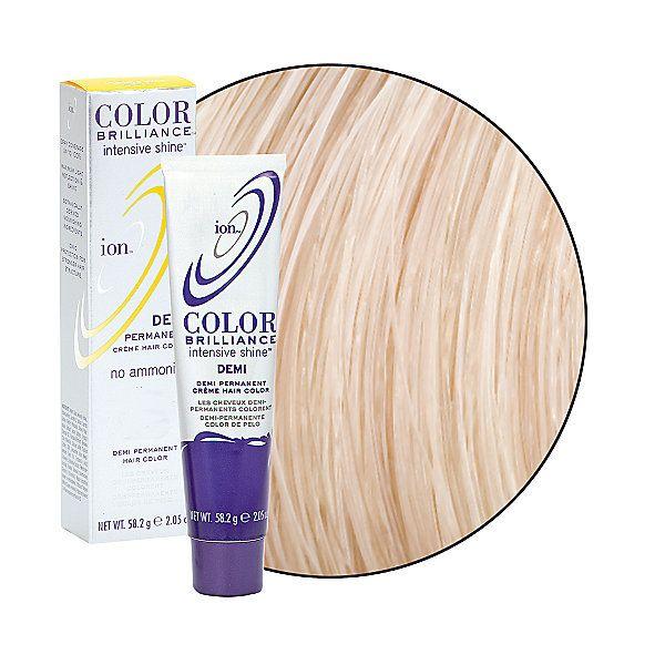 Light Natural Blonde Ion Color Brilliance Demi Permanent Creme Hair Color Demi Semi Permanent Hair Color Demi Permanent Hair Color Hair Color Without Ammonia