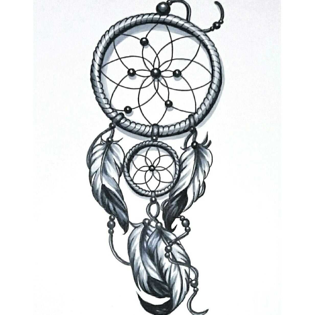 Dream Catcher Tattoo Design Idea: #SkinEvolutionTattoo #KONOMI #konomiangel #tattoo #design