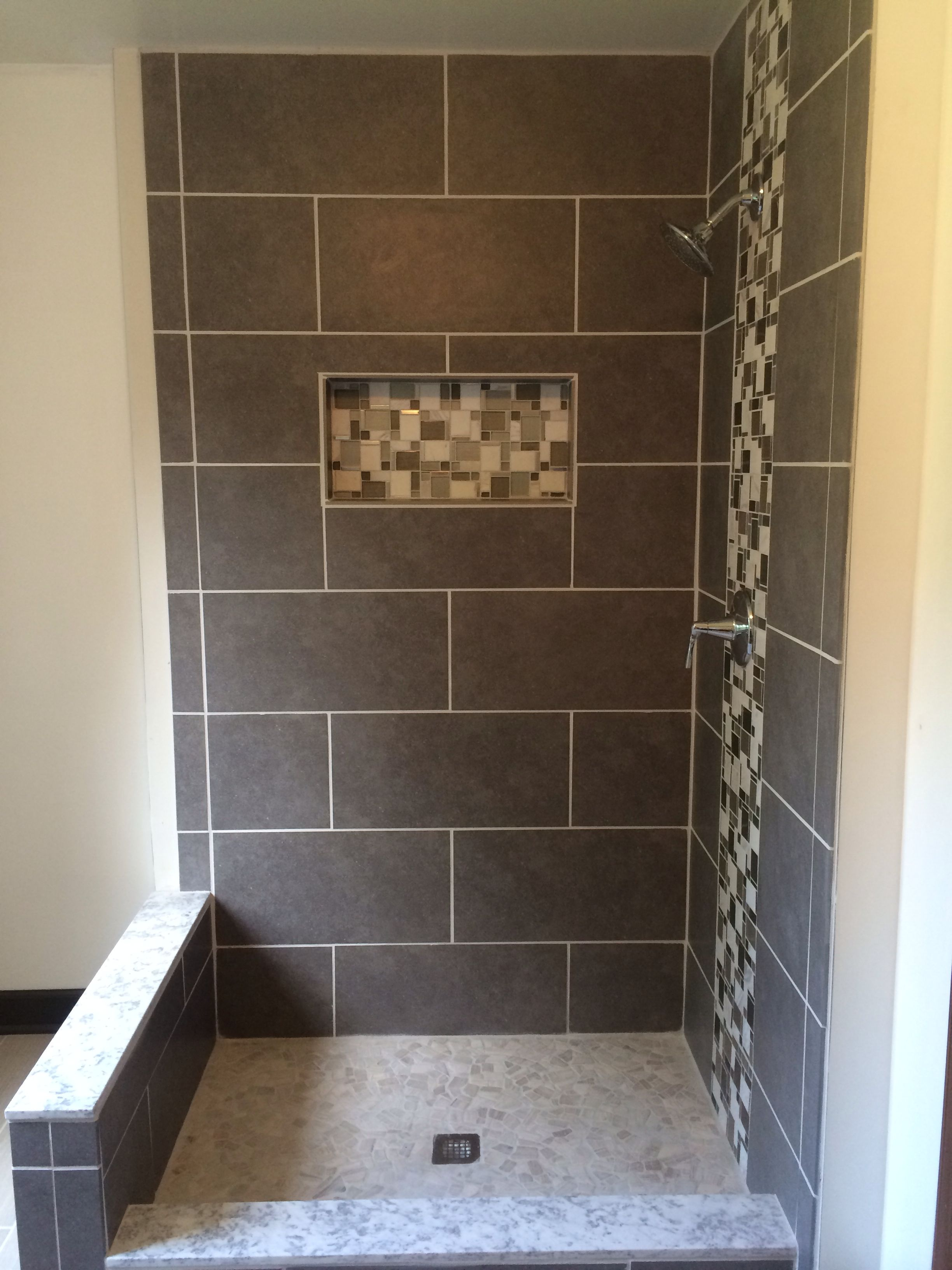 Shower Built By Keedysville Construction In Frederick