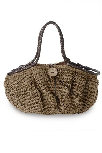 Win this stylish raffia bag from Damart with our Summer Styling competition