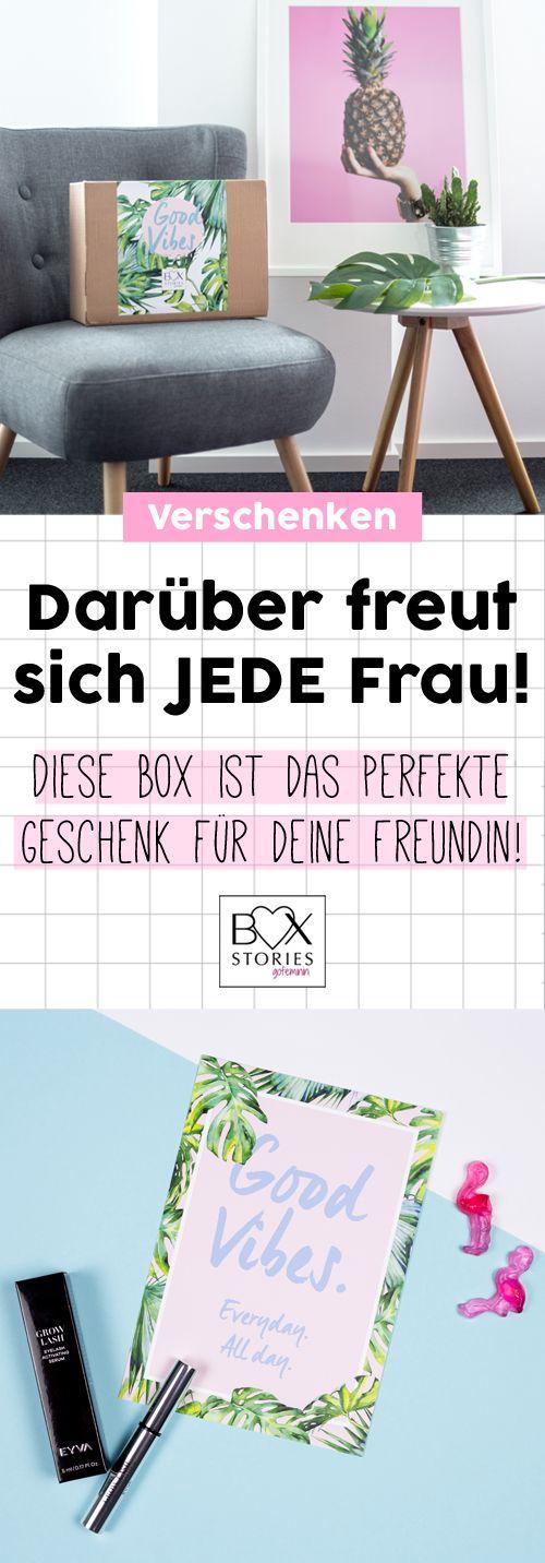 Geschenk für die beste Freundin: DIESE Box ist das perfekte Geschenk ...