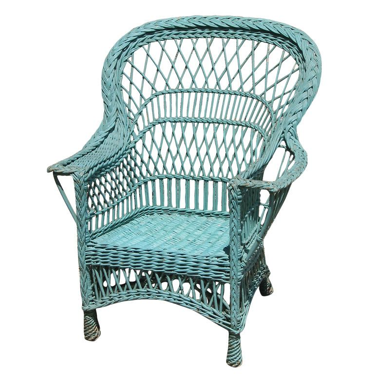 Bar Harbor Wicker Armchair | Florida House Ideas! | Pinterest | Sillones