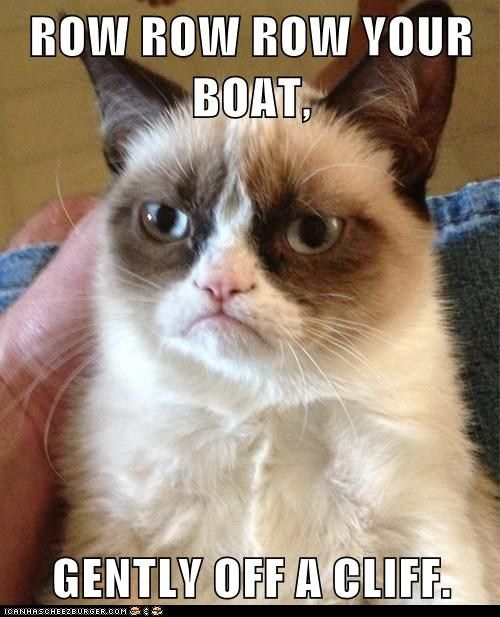 Life Is But A Drag Grumpy Cat Music Class And Cat - 18 hilarious sad cat problems that might explain why your cats so moody