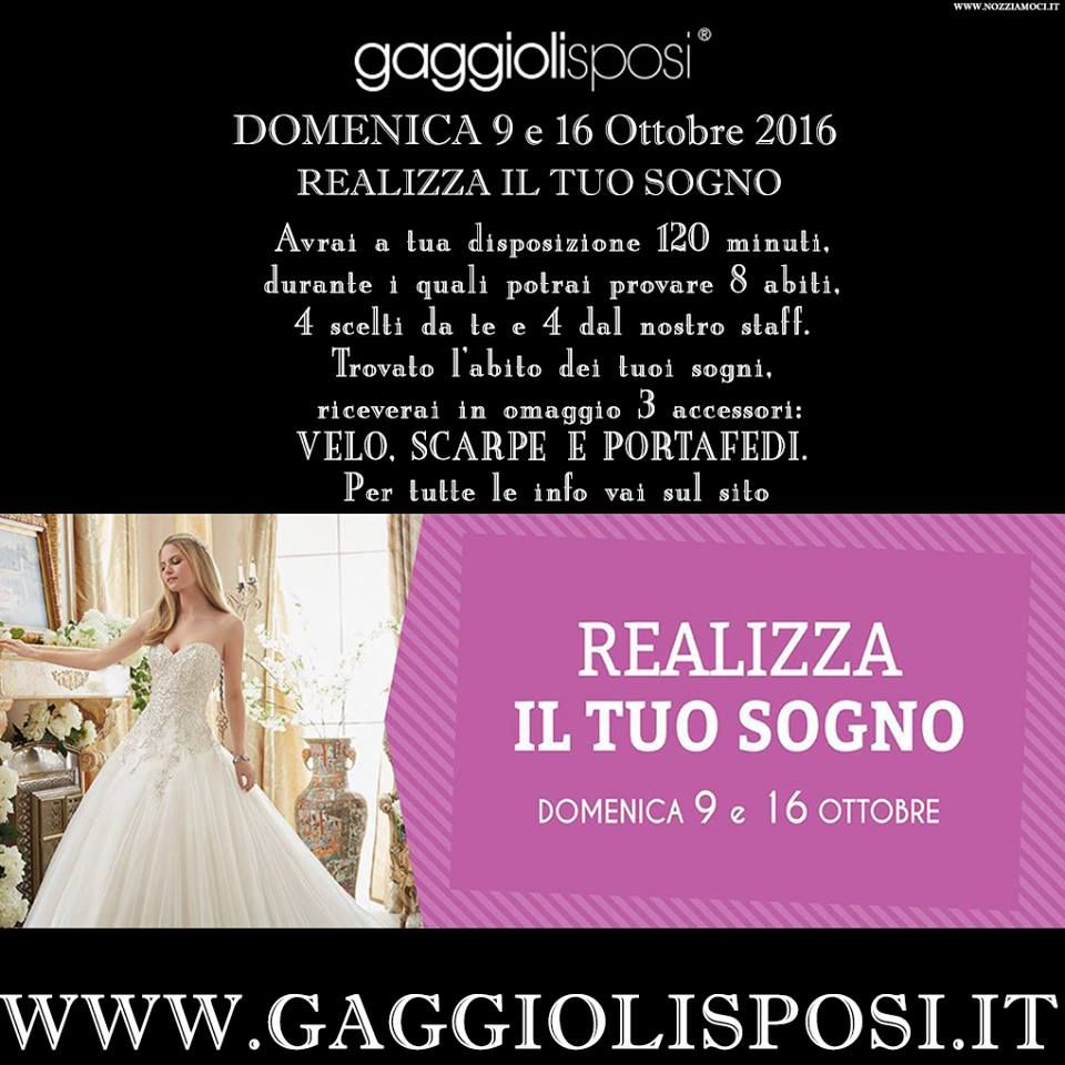 Per tutte le info e le promozioni: www.nozziamoci.it e scoprirete un l'esclusivo servizio wedding planner!