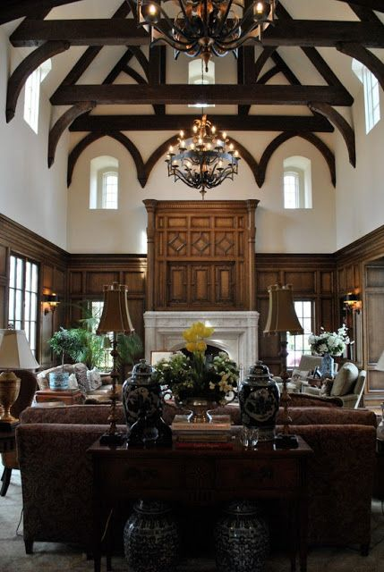 Old World Home Decor | ... Home: Bloggers Beautiful Abodes.....Tina From  The Enchanted Home