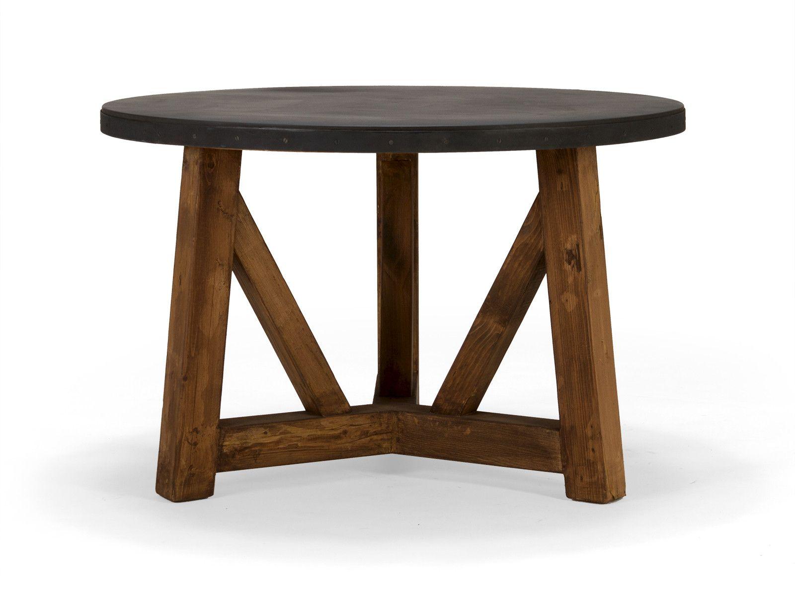 massivholz esstisch rund aus pinie pinie esstische und esstisch industrial. Black Bedroom Furniture Sets. Home Design Ideas