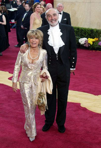 Micheline Roquebrune and Sean Connery still married. Sean ...
