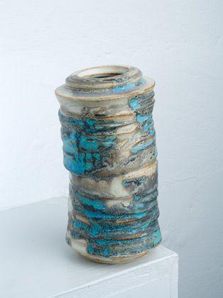 Ceramics by Gary Wood at Studiopottery.co.uk - Tea bowl vase, 2008.