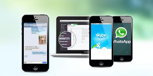 Monitor text messages,BBM, Kik, Line, Hangouts, WhatsApp