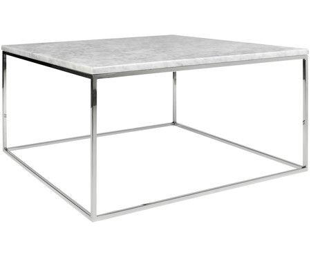 Wei er marmor couchtisch gleam in 2019 wohnzimmertisch for Tischplatte marmor rund