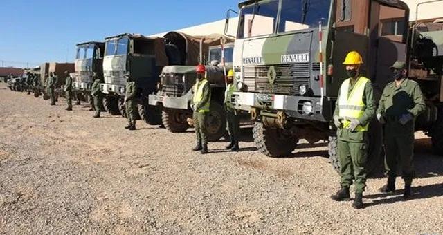 وجدة تعبئة وحدة للقوات المسلحة الملكية لتقديم الإغاثة والمساعدة للسكان المتضررين من سوء أحوال In 2020