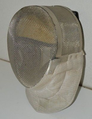 @fencinguniverse : Nice White & Silver High End FENCING Helmet Absolute Fencing Gear HTF 350N Small  $49.00 E http://aafa.me/2hav5P2 http://aafa.me/2gUa1zY