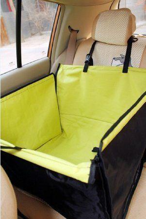 Water Proof Dog Cat Pet Car Seat Protector Cover Half Of Back Seat Single Size Enclosure Strikinggear Grey Amazo Pet Supplies Dog Pet Car Pet Car Seat