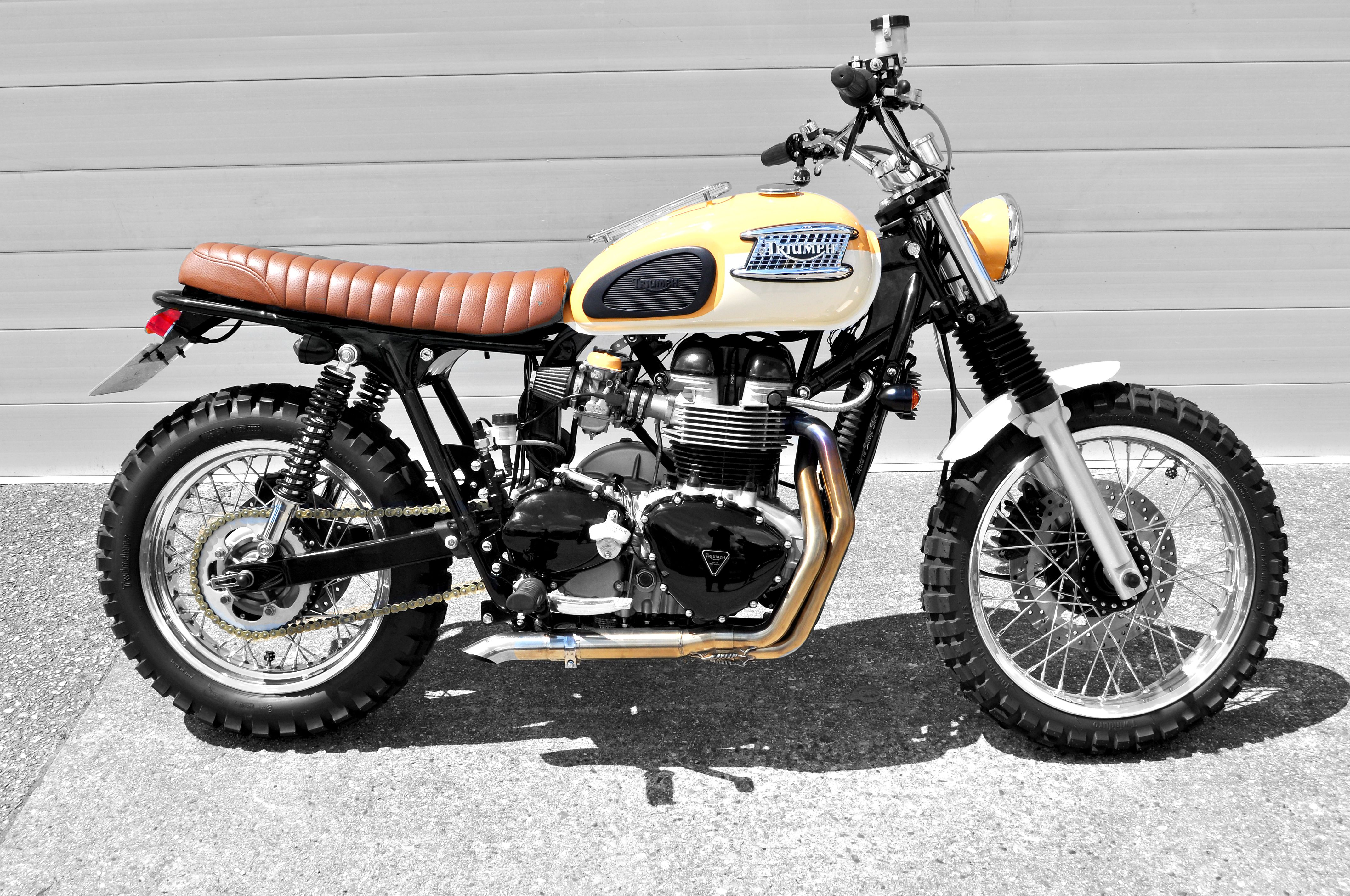 Keith Salts 2003 Bonneville T100 Custom Cool Motorcycles Triumph