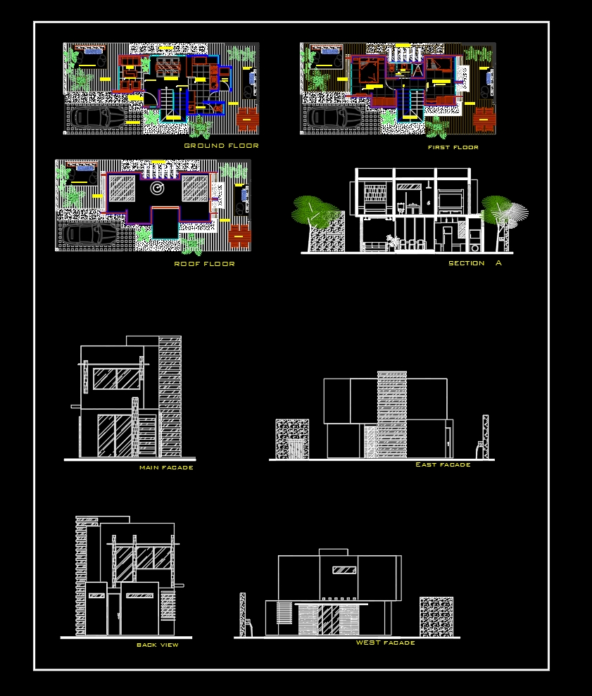 House Plan Design 9 Autocad File Free Download In 2021 Home Design Plans Plan Design File Free