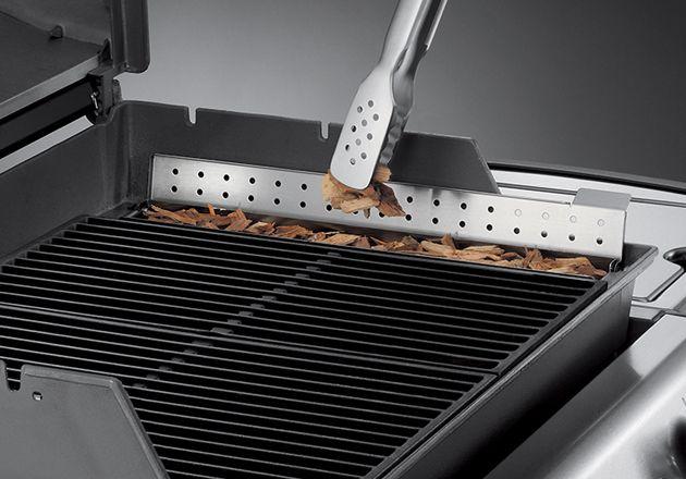 Genesis Gas Grill Smoker Kit Cast Iron Part 7575 Gas Grill Smoker Grill Smoker Smoker Kit