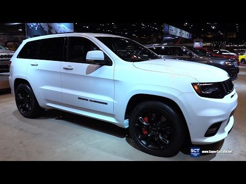 2017 Jeep Grand Cherokee Srt Exterior And Interior Walkaround 2017 Chicago Auto Show Youtube Jeep Grand Cherokee Srt Jeep Srt8 2017 Jeep Grand Cherokee