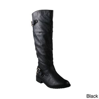 Refresh 'ALMA-08' Women's Knee-high Riding Boots | Overstock.com Shopping - Great Deals on Refresh Boots