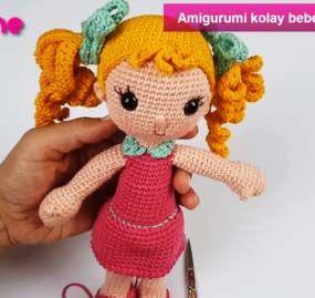 Amigurumi oyuncak bebek yapımı anlatımlı modelleri   269x285