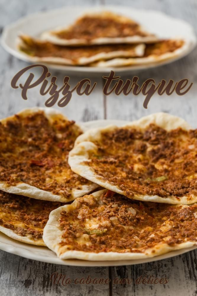 Lahmacun recette pizza turque pizza turque recette - Recettes de cuisine turque ...