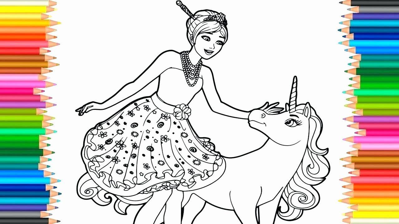 Unicorn Princess Coloring Page New Barbie Horse Coloring Pages Maximosheet Unicorn Coloring Pages Princess Coloring Pages Coloring Pages