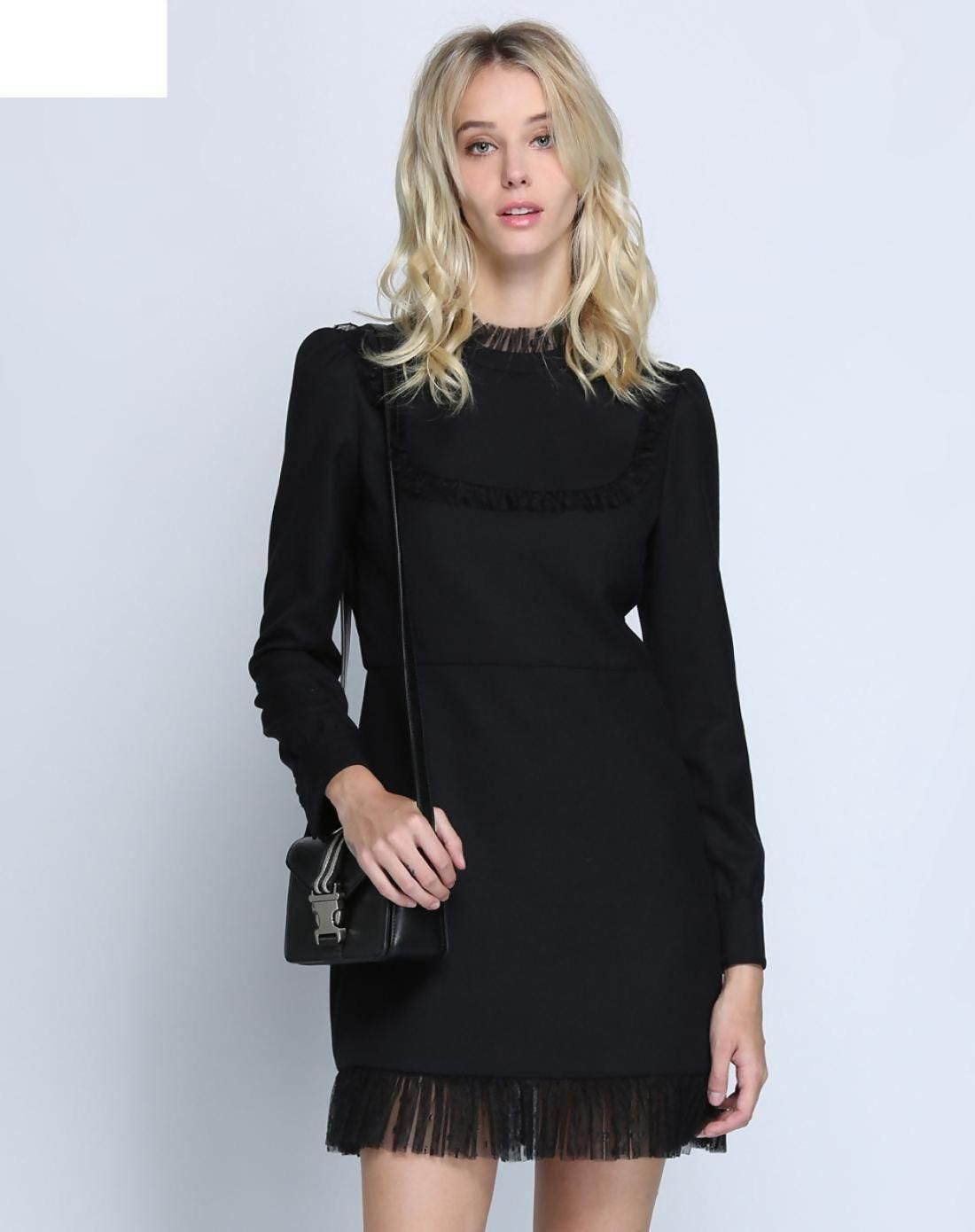 a70c02babd7c VIPme (VIPSHOP Global) -  Five Plus Black Women s Dress - AdoreWe ...