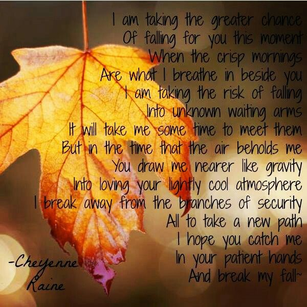 Fall leaves leaf poem poetry love loving beautiful simple