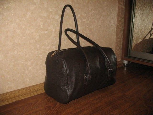 35f6f63061b0 Дорожная сумка своими руками | Leathergin - блог о кожаных штуках ...