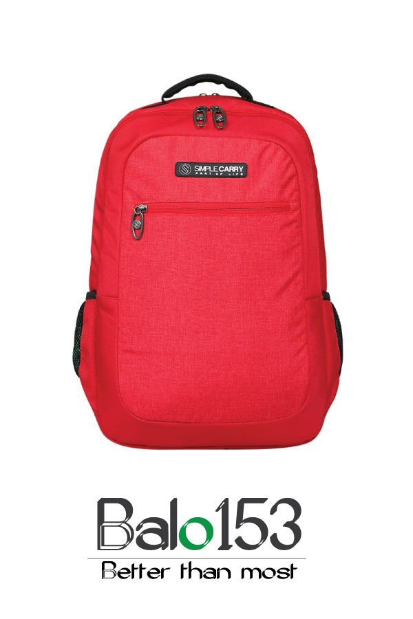 Balo đựng laptop 14 inch Simplecarry B2B17 Red