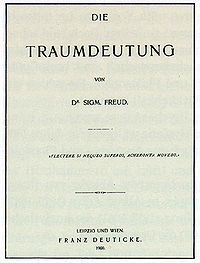 The Interpretation of Dreams (German: Die Traumdeutung) is a book by psychoanalyst Sigmund Freud. The book introduces Freud's theory of the unconscious with respect to dream interpretation, and also first discusses what would later become the theory of the Oedipus complex.