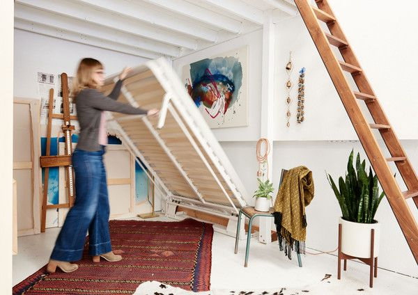 Now You See It... - Inside An Artist's Streamlined Work-Live Loft - Photos