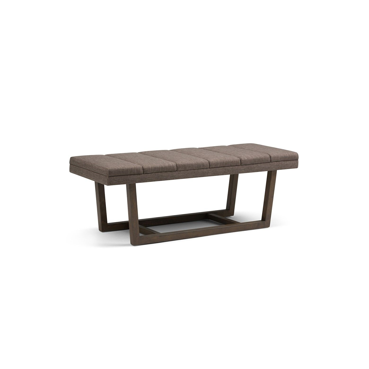 Outstanding The Jenson Ottoman Bench From Simpli Home Features Andrewgaddart Wooden Chair Designs For Living Room Andrewgaddartcom