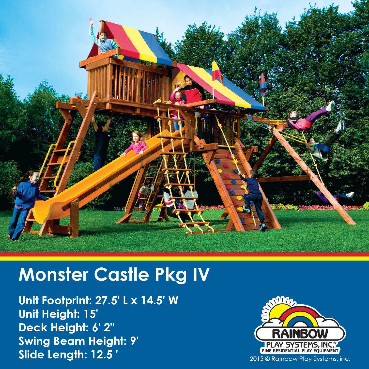 monster castle supersized package iii for supersized outdoor fun