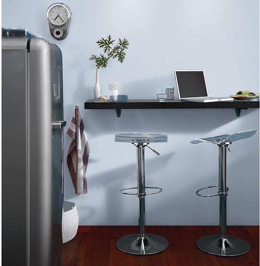 Barras y taburetes en la cocina cocinas renunciar y - Taburete barra cocina ...