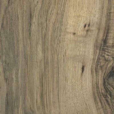 Trafficmaster Lakeshore Pecan 7 Mm Thick X 7 23 In Wide X 50 58