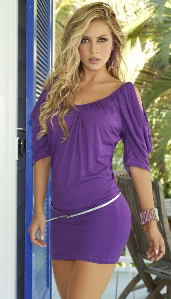 Cute Mini Dress! Also looks great when worn with a pair of leggings ...