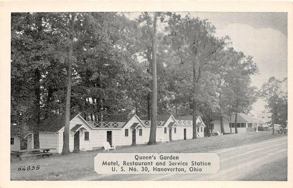 E41/ Hanoverton Ohio Postcard Columbiana County c1940s